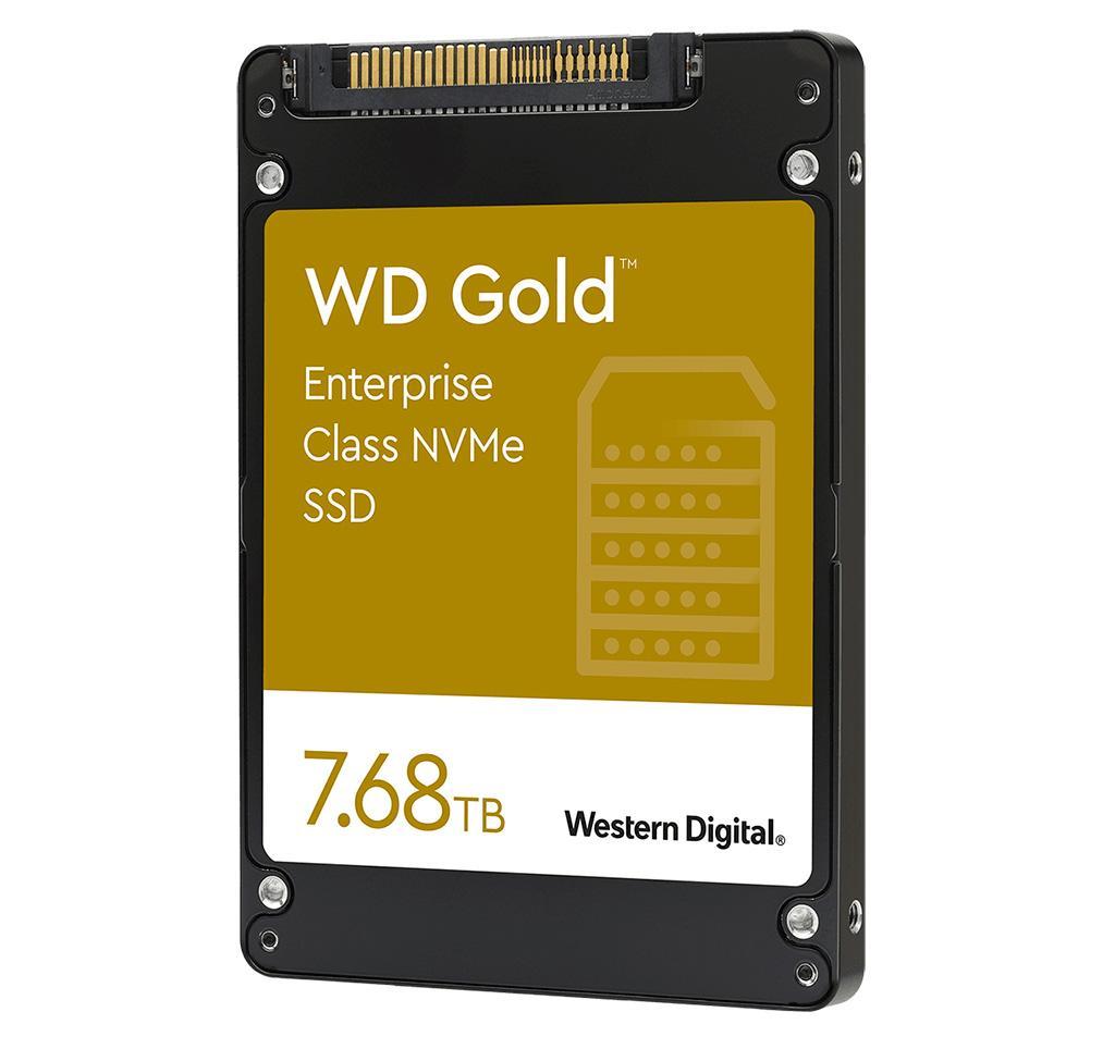 Western Digital анонсировала U.2-накопители WD Gold