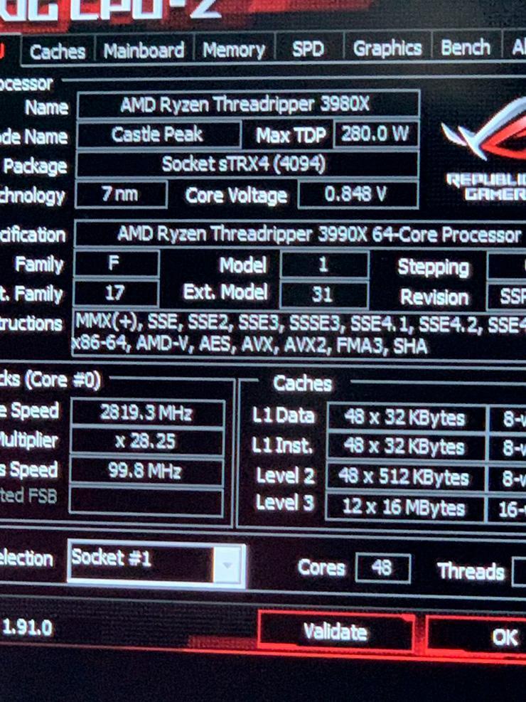 48-ядерному AMD Ryzen Threadripper 3980X быть! или не быть...