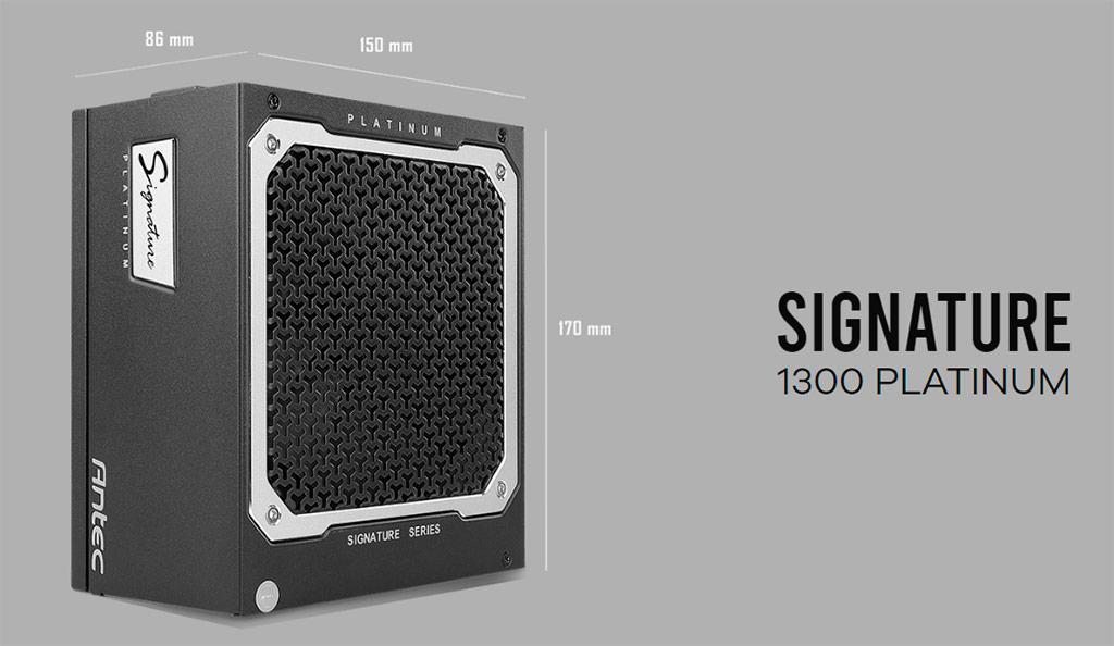 Antec Signature – топовая серия блоков питания мощностью от 1 кВт
