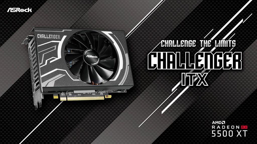 ASRock Radeon RX 5500 XT Challenger уместилась в ITX-формат