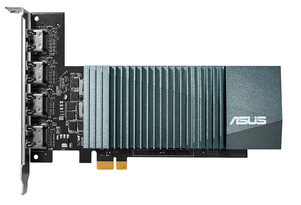 Видеокарта ASUS GeForce GT710 передает привет из 2014
