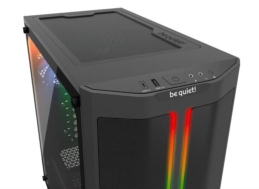 Корпус Be Quiet! Pure Base 500DX намного привлекательнее оригинальной версии, а стоит также
