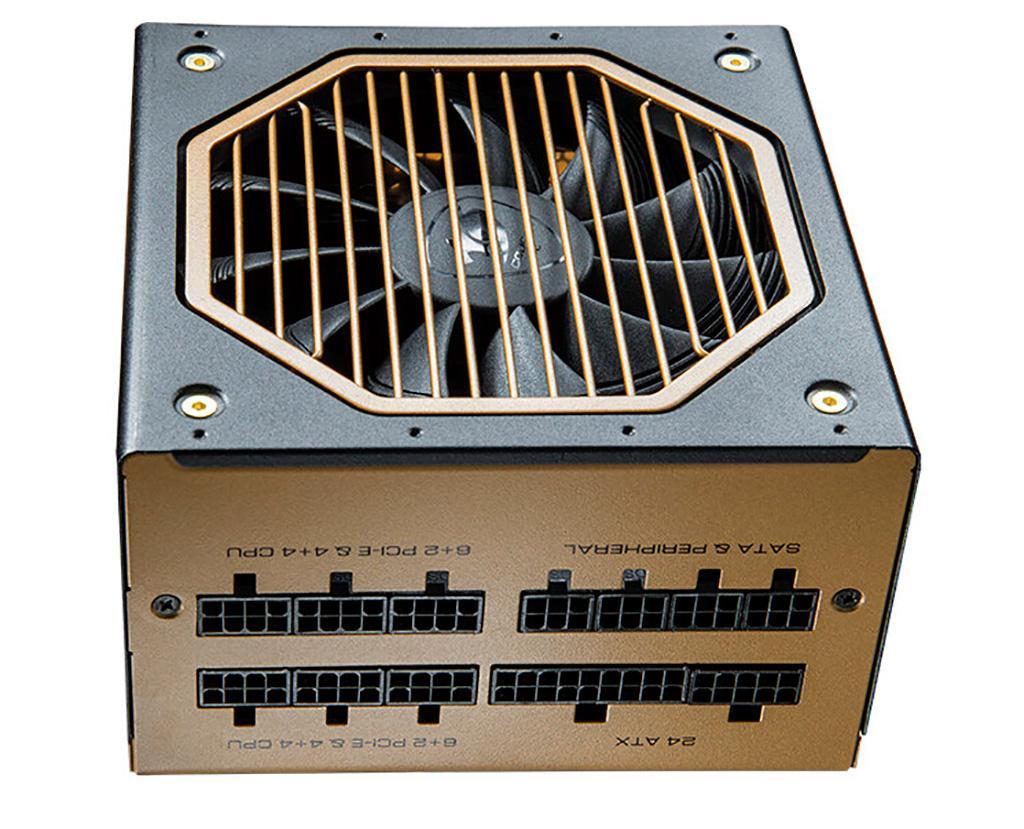 Блоки питания Cougar GX-F Aurum гарантированно отработают 7 лет