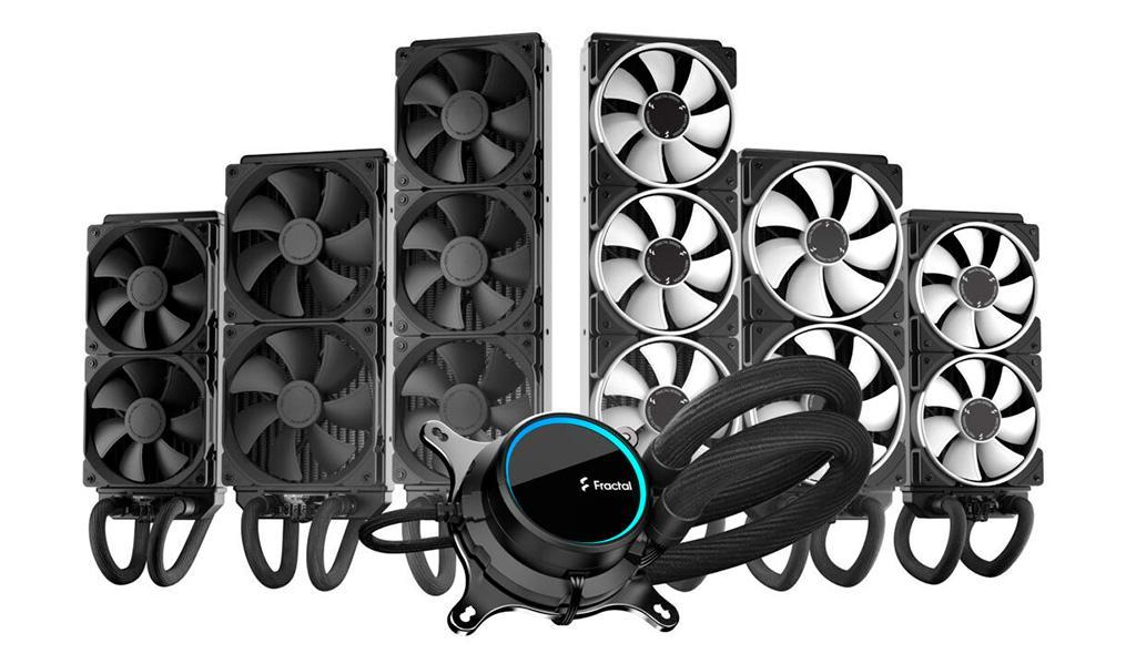 Fractal Design Celsius+ – обновленная линейка процессорных СВО, включающая разом 6 моделей