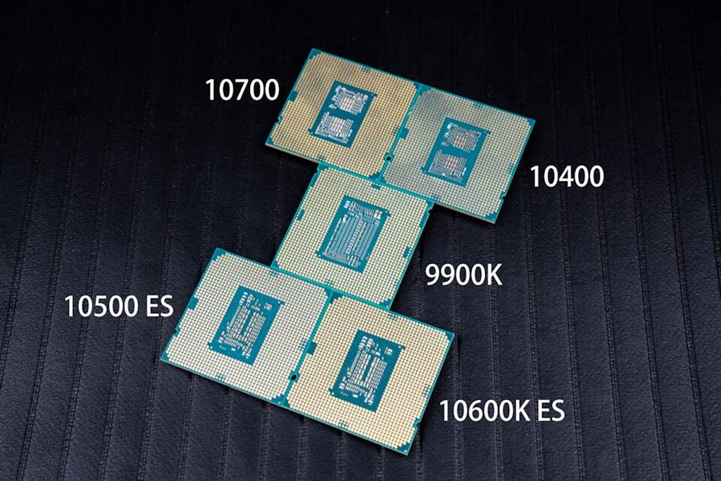 Опубликован обзор четырёх процессоров Intel Core 10-го поколения