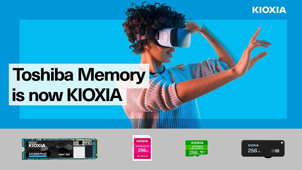 Kioxia наконец выпустила портфолио потребительских накопителей под собственным брендом