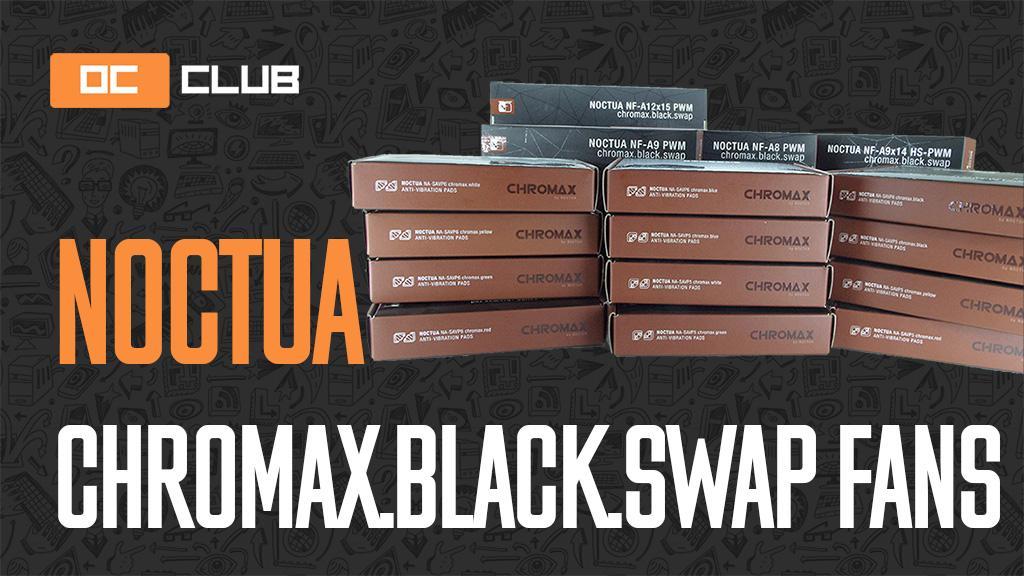 Вентиляторы Noctua chromax.black и антивибрационные уголки NA-SAVP5, NA-SAVP6: обзор. (Де)колоризация прошла успешно