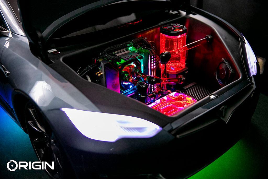 Origin PC Ludicrous PC – дикий ездящий компьютер за $13 370