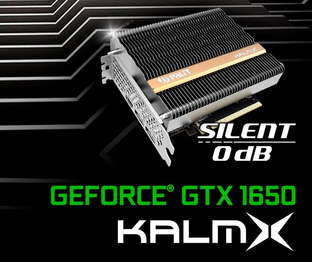 Palit GeForce GTX 1650 KalmX: обзор. Абсолютные 0 децибел