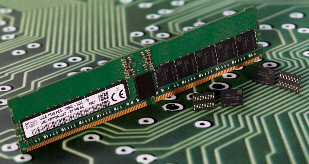 SK Hynix: массовое производство памяти DDR5 стартует в этом году