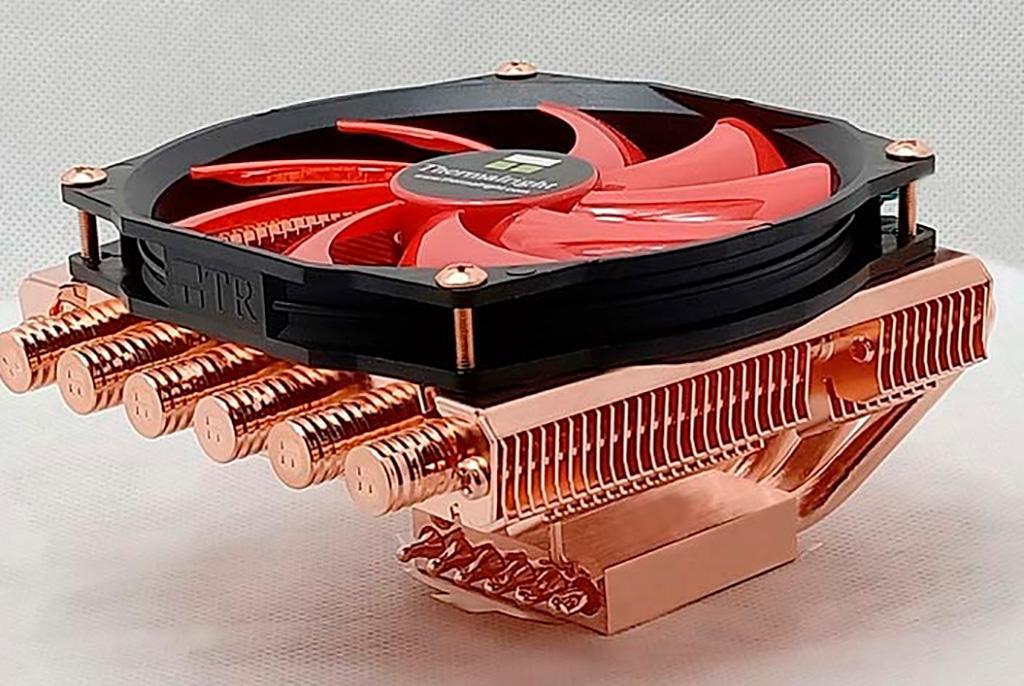 Процессорный кулер Thermalright AXP-100 C65 щеголяет медным радиатором
