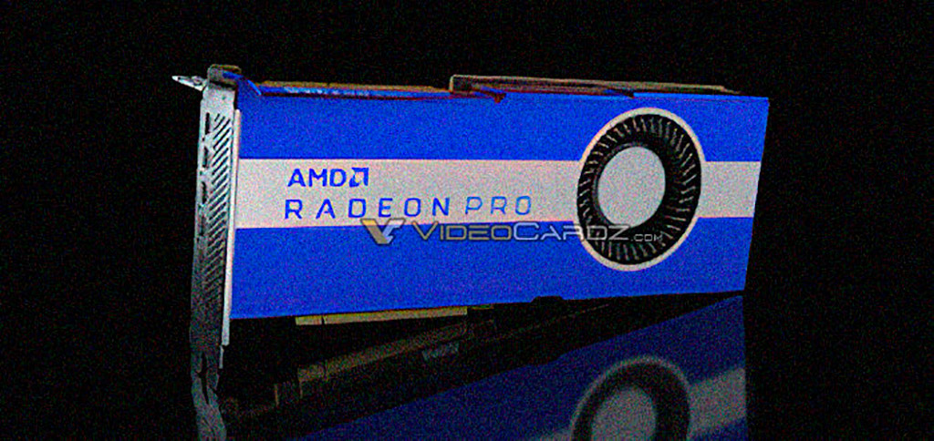 AMD готовит профессиональную версию Radeon Pro VII