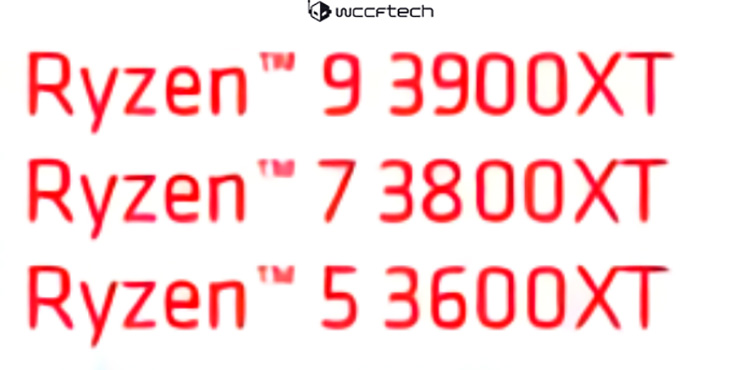 Ryzen 9 3900XT, Ryzen 7 3800XT и Ryzen 5 3600XT – три представителя семейства AMD Matisse Refresh