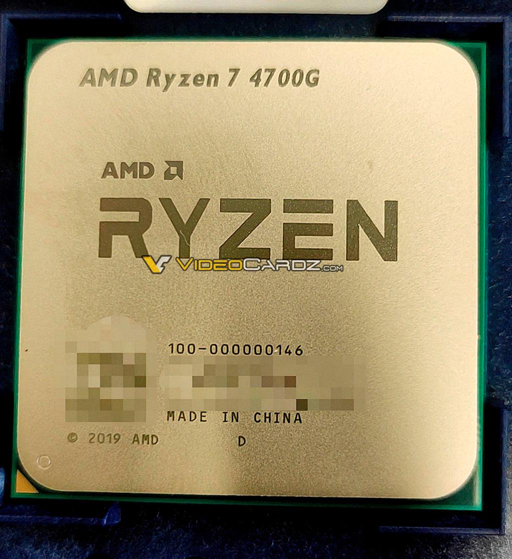 AMD Ryzen 7 4700G – флагманский гибридный процессор семейства Renoir в исполнении AM4