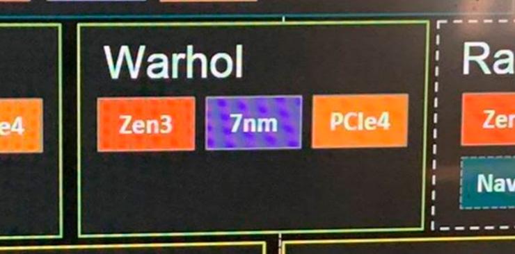 Слух: непонятные процессоры AMD с кодовым именем Warhol будут на 7-нм техпроцессе и архитектуре Zen 3