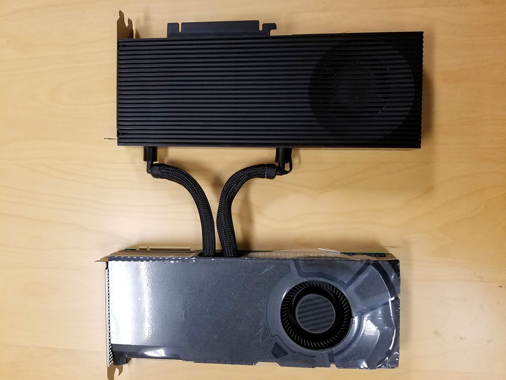 Asetek рассматривает возможность выпуска СВО Rad Card в виде отдельного продукта