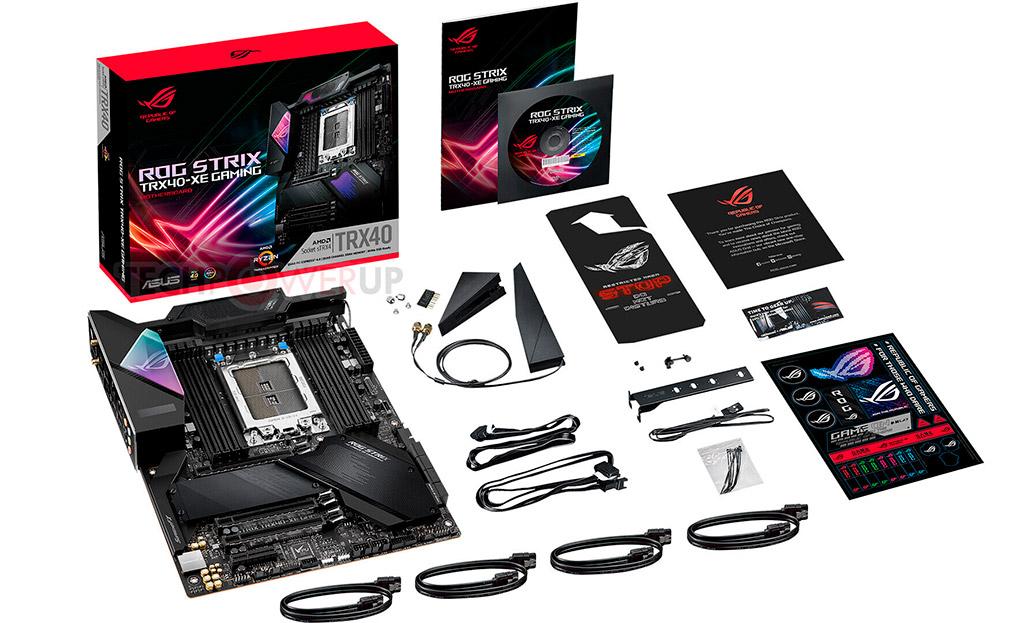 Материнская плата ASUS ROG Strix TRX40-XE Gaming получила усиленную схему питания
