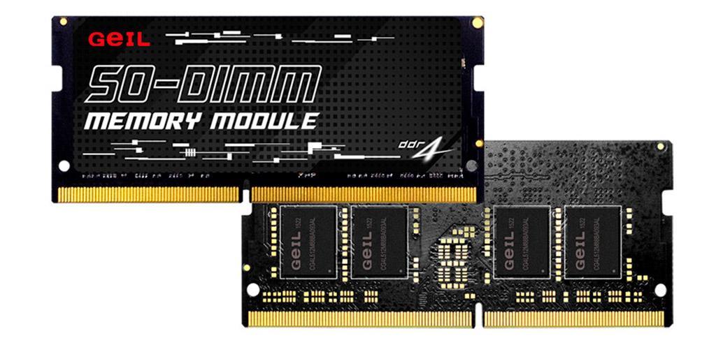 GeIL предлагает 64-гигабайтные комплекты памяти SO-DIMM DDR4