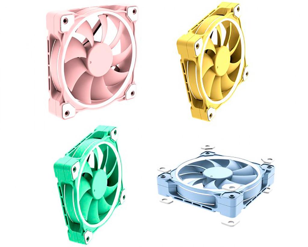 """ID-Cooling предложит вентиляторы ZF-12025 в расцветке """"розовый пятачок"""" и не только"""
