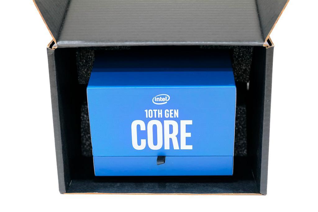 Не каждый процессор Intel Core 10th Gen имеет под крышкой припой