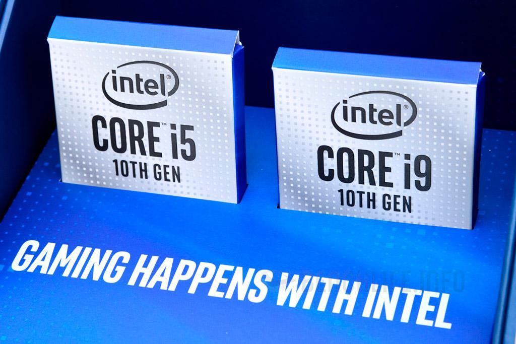 """Рассматриваем """"комплект обзорщика"""" Intel Core i9-10900K и Core i5-10600K, а также стандартную упаковку Core i9"""