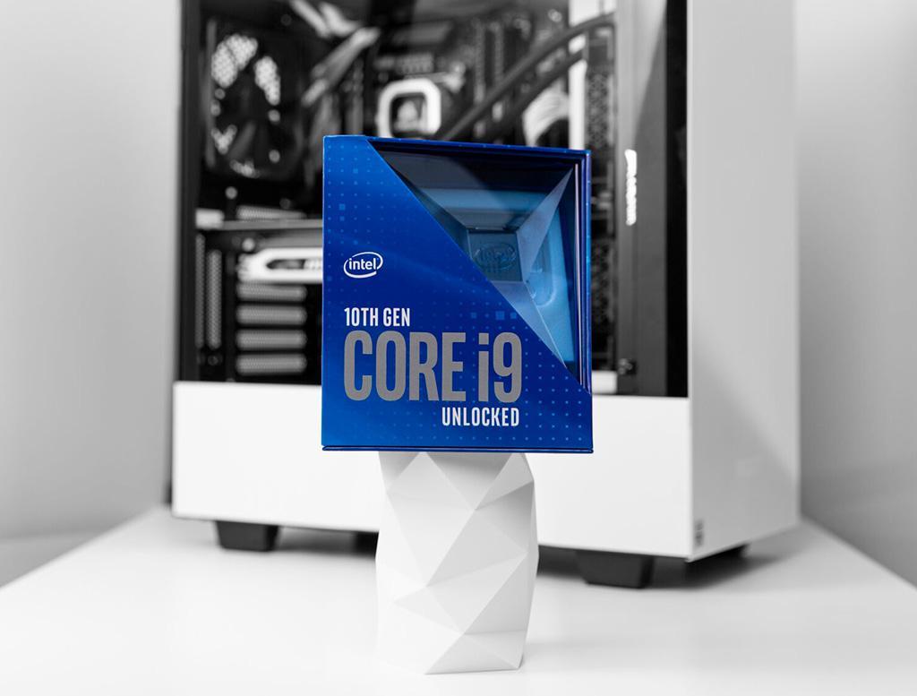 Intel Core i9-10900K: результаты тестов в стоке и разгоне на пределе в Cinebench R15