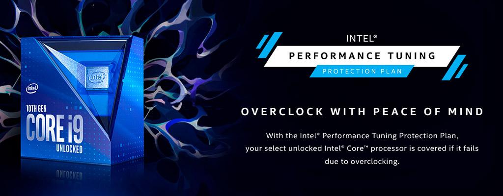 """Для процессоров Intel Core 10th Gen предлагается """"оверклокерская страховка"""""""
