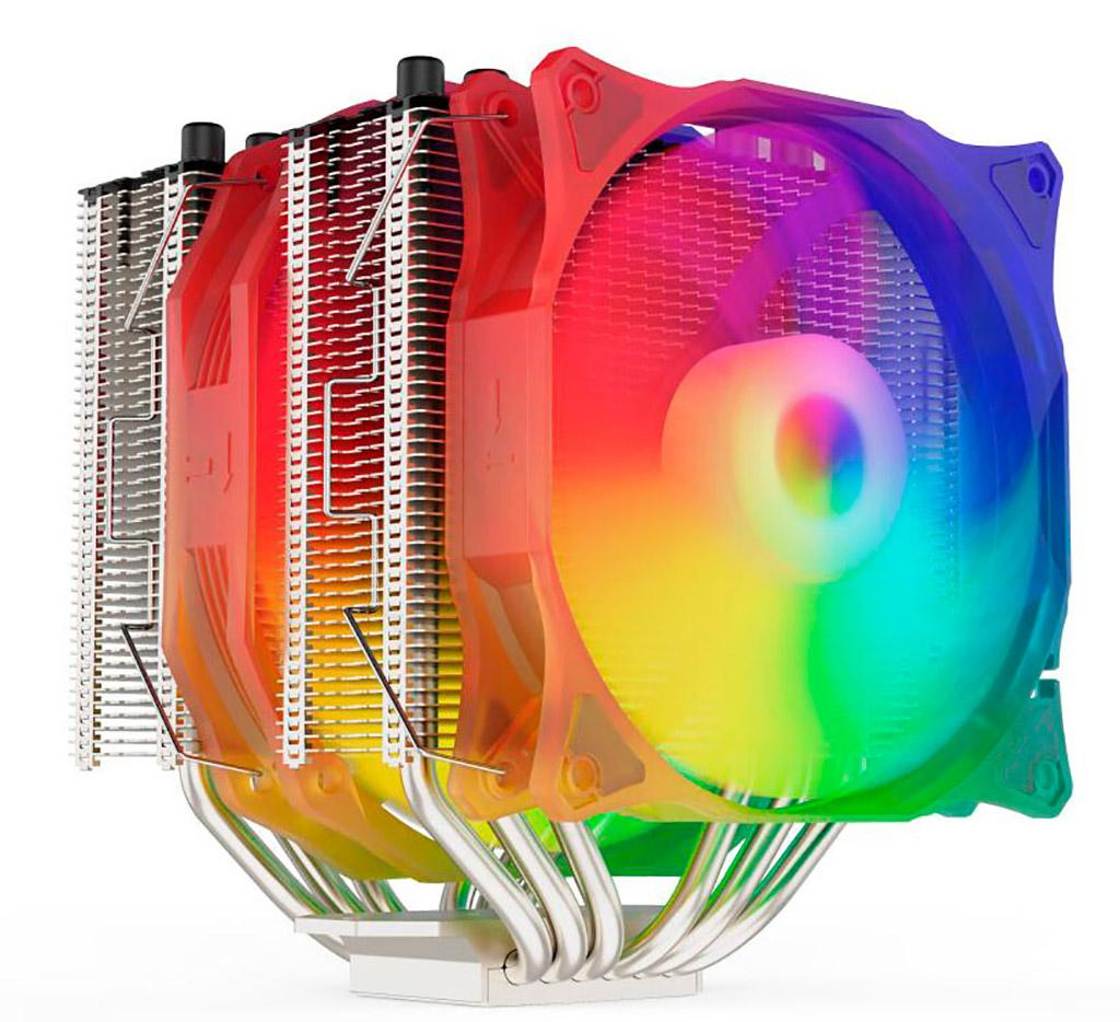 Кулер SilentiumPC Grandis 3 EVO ARGB способен остудить 250-Вт процессор