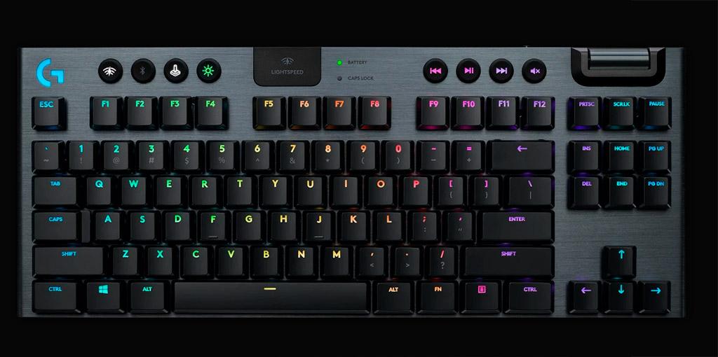 Logitech готовит беспроводную клавиатуру G915 TKL по просьбе страждущих