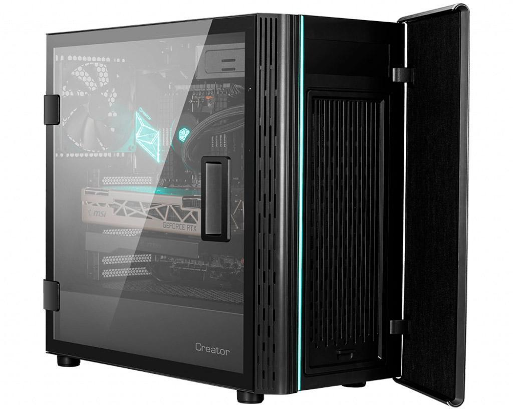 Корпус MSI Creator 400M получил шумоизоляцию