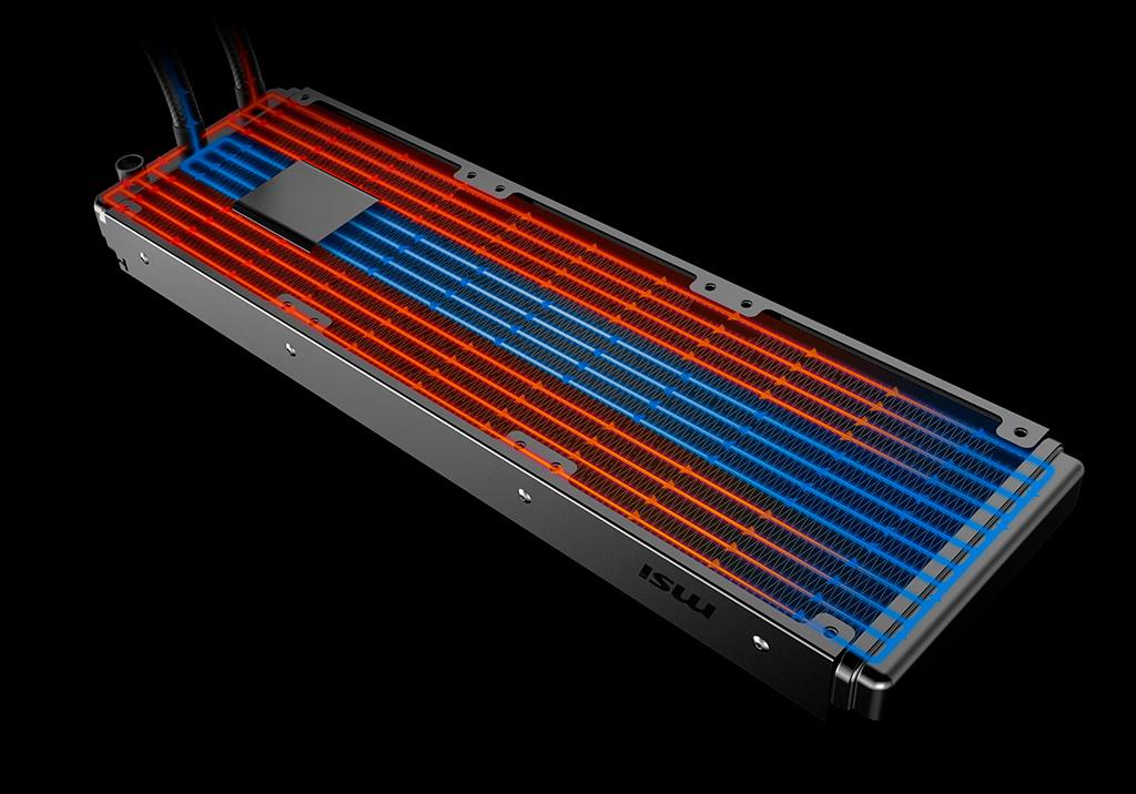 MAG CoreLiquid – первые «водянки» MSI с необычной компоновкой
