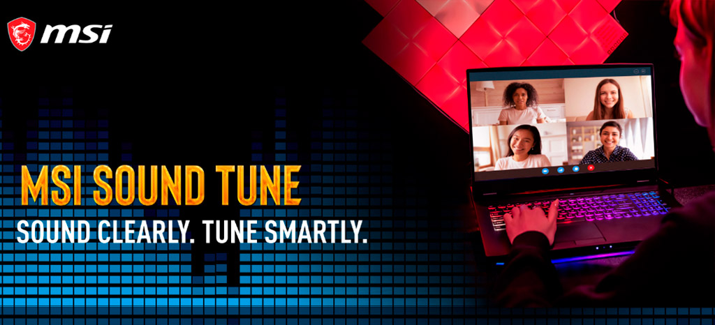 MSI Sound Tune подавляет шумы на основе ИИ-алгоритмов