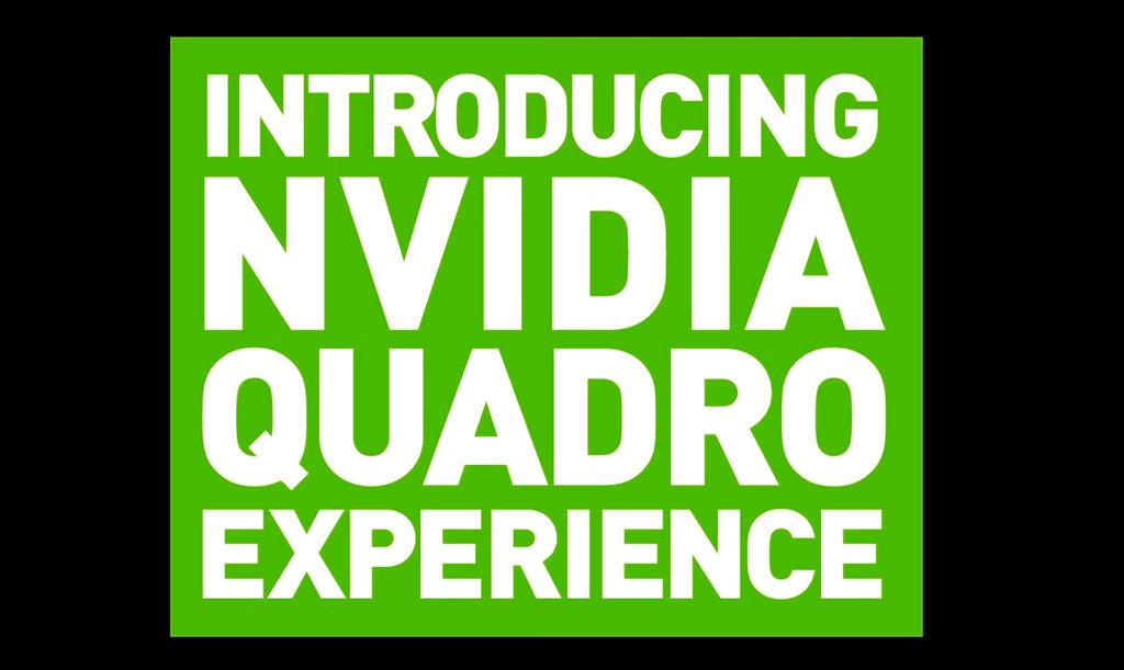 Приложение NVIDIA Quadro Experience ускорит работу контентмейкеров