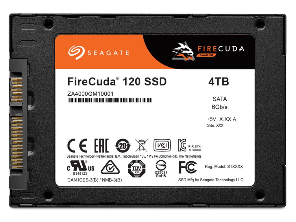 SSD-накопители Seagate FireCuda 120 адресованы геймерам, но примечательны ресурсом