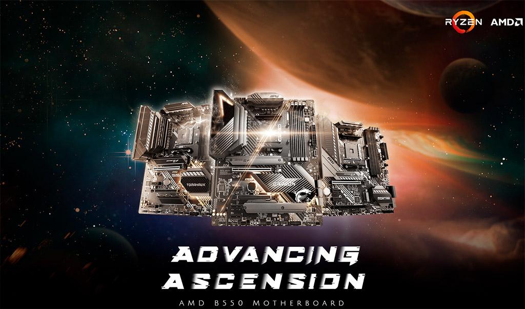 Цены материнских плат AMD B550 мягко говоря печалят