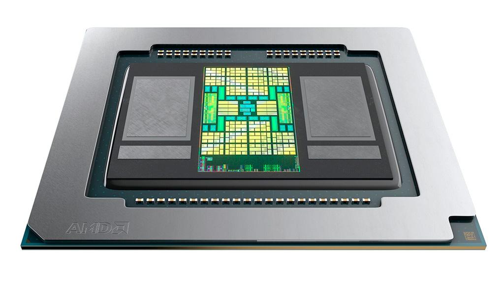 Мобильный адаптер AMD Radeon Pro 5600M получил видеопамять HBM2. Это эксклюзив для Apple MacBook Pro