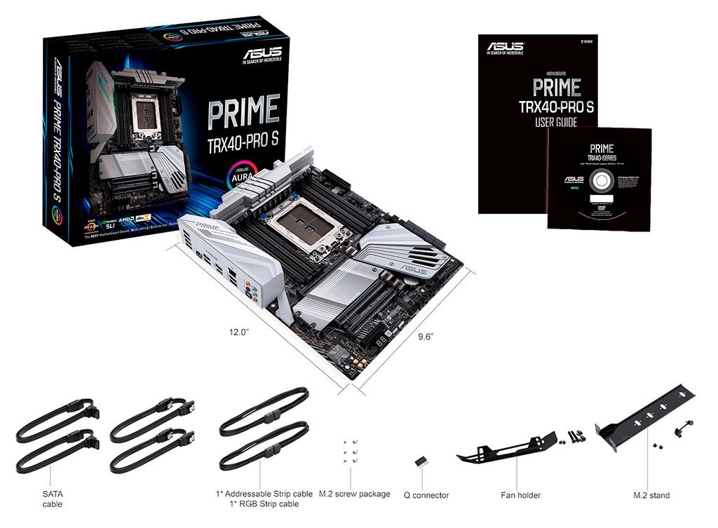 Близится релиз материнской платы ASUS Prime TRX40-Pro S