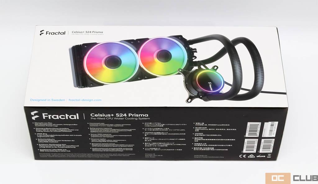Fractal Design Celsius+ S24 Prisma: обзор. Вот так плюсанули
