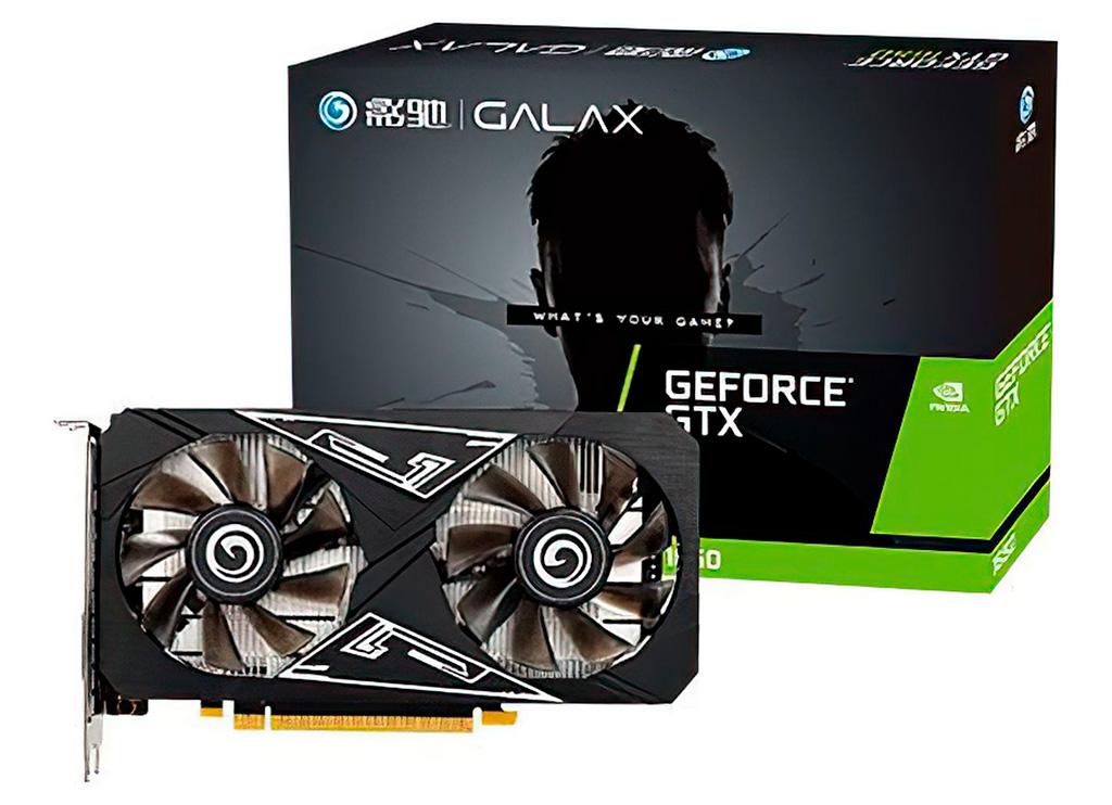 Galax первой выпустила GeForce GTX 1650 на GPU TU106