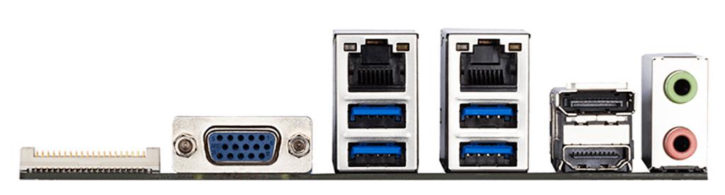 Материнская плата Gigabyte GA-IMB410N в формате Mini-ITX выделяется нетипичной компоновкой