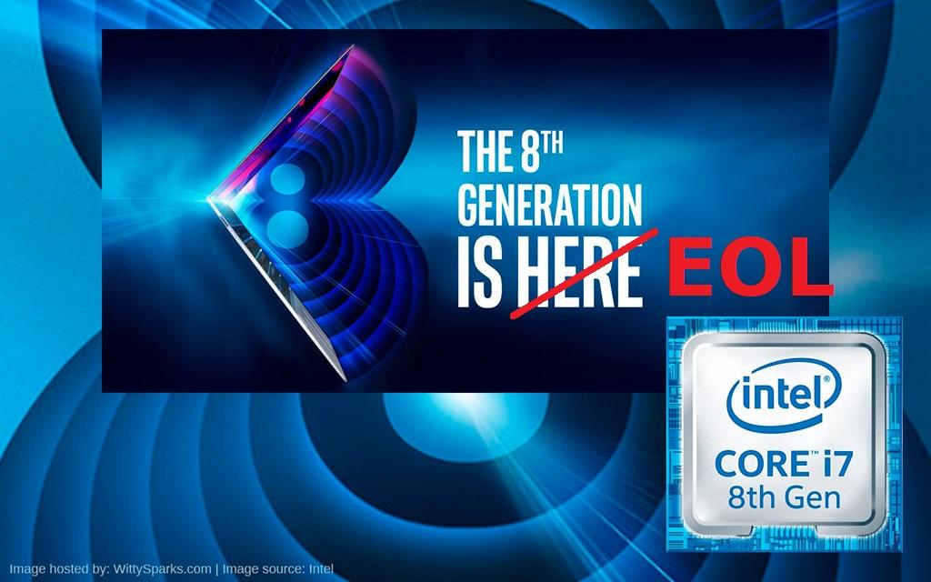 Intel Coffee Lake всё. Процессоры 8-го поколения снимаются с производства