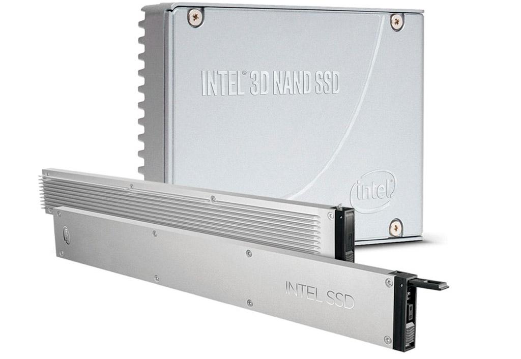"""Intel DC P4510: 15,3 ТБ твердотельной памяти, ценник $4700 и формат """"линейки"""""""