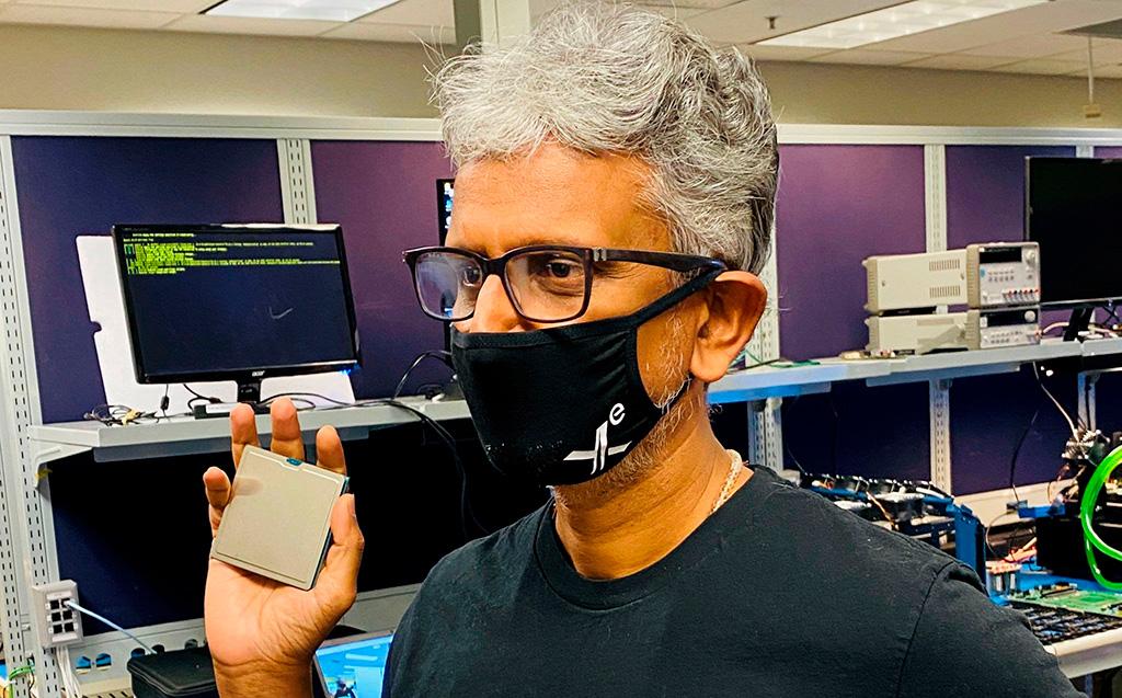 Раджа Кодури показал трио графических процессоров Intel Xe