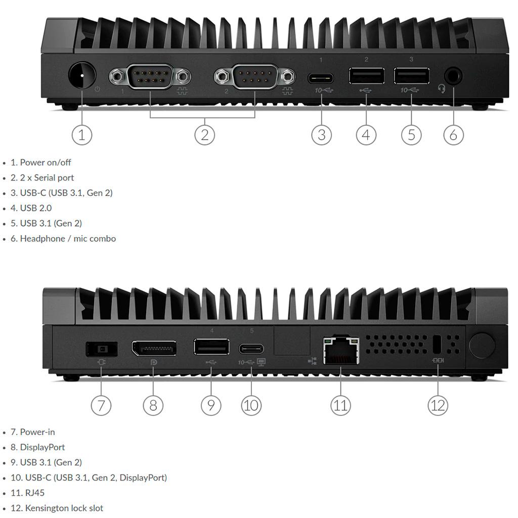 Пассивный мини-ПК Lenovo ThinkCentre M75n IoT базируется на 6-Вт процессоре AMD Athlon