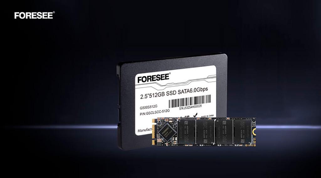 Полностью китайские SSD-накопители Longsys FORESEE G500 используют память от YTMC