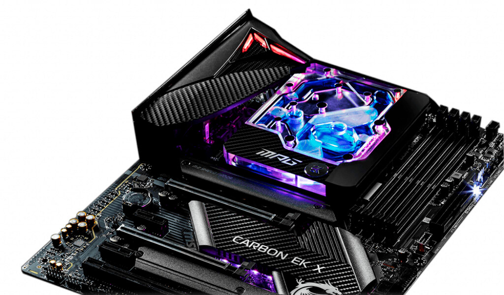 MSI MPG Z490 Gaming Pro Carbon EK X с водоблоком от EKWB поступила в продажу