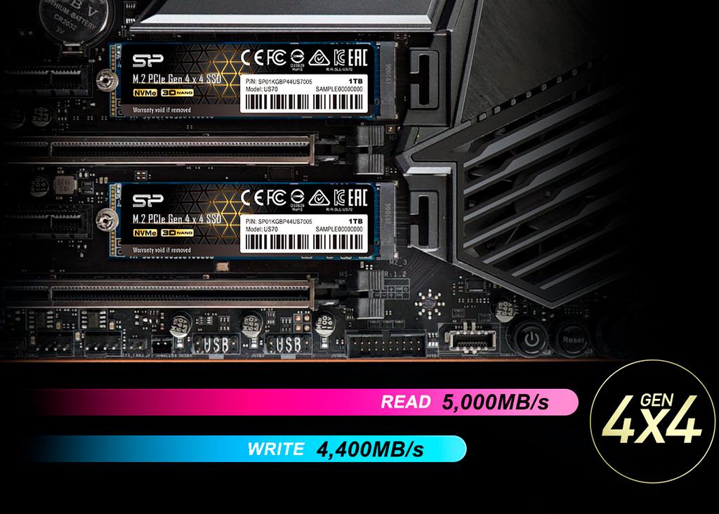 Silicon Power присоединяется к PCI-E 4.0 SSD тусовке