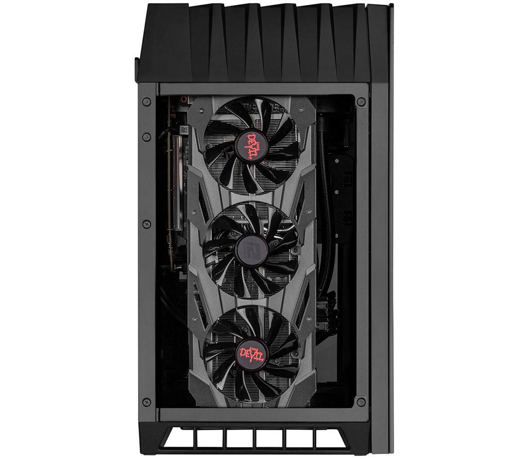 SilverStone Lucid LD03-AF отличается от оригинальной модели улучшенной вентиляцией GPU