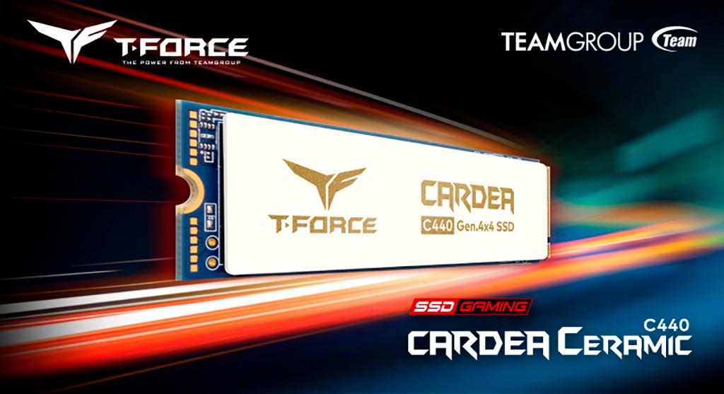 Team предлагает накопители Cardea Ceramic C440 с хитрым керамическим охладителем