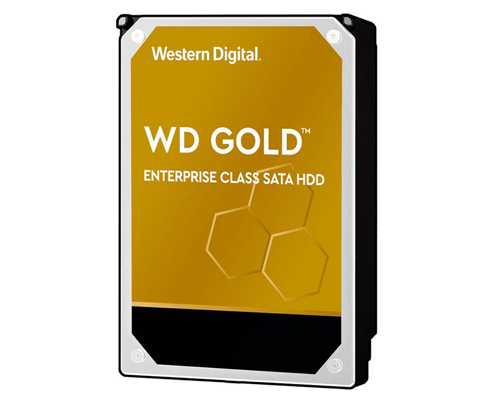 Начались продажи жёстких дисков Western Digital WD Gold ёмкостью 18 ТБ